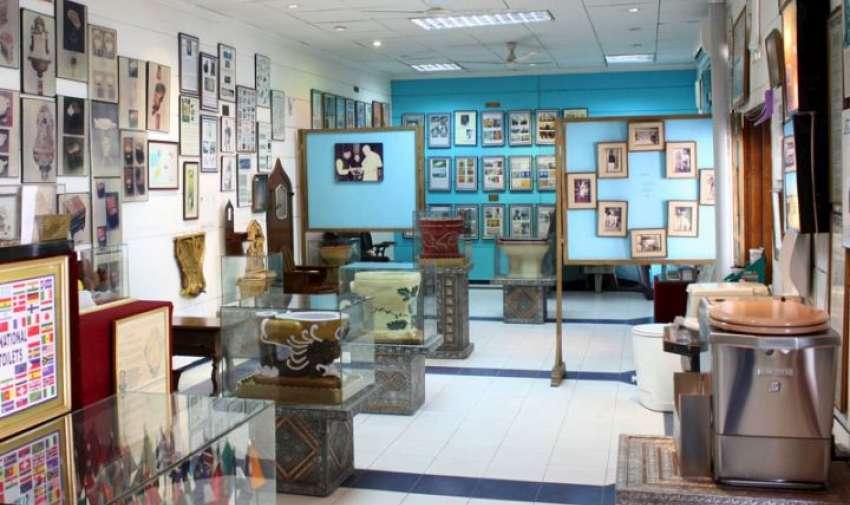 Museo del inodoro fue fundado por Dr. Bindeshwar Pathak, en Nueva Délhi, India.