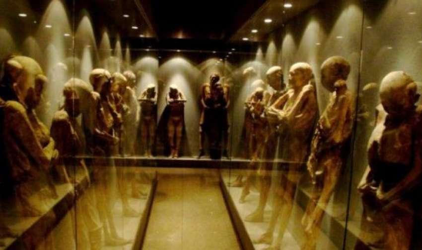 Museo de las momias de Guanajuato, México.