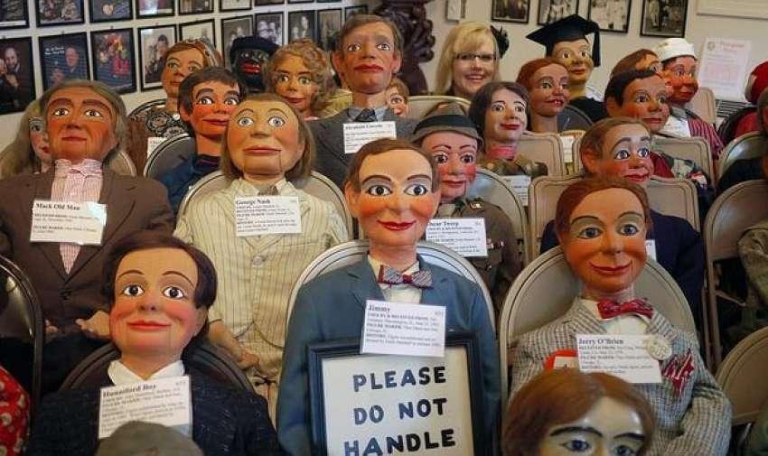 Museo de la Ventriloquia en Estados Unidos.