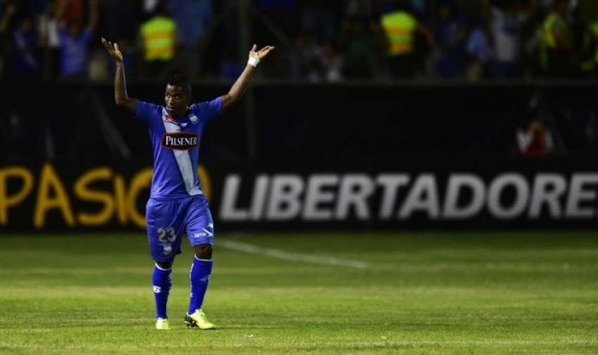 Miller Bolaños fue la figura del partido. Foto: AFP.