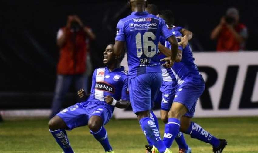 Bolaños fue el autor del primer gol. Foto: AFP.
