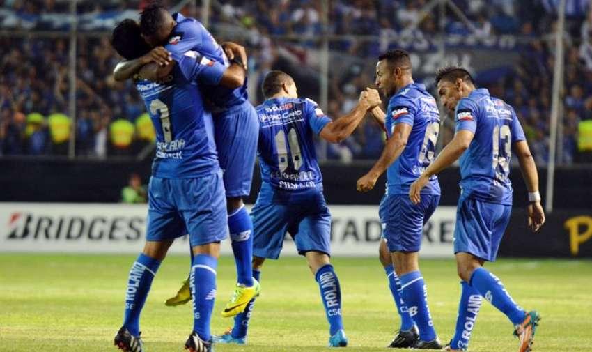 El juego del equipo ecuatoriano fue muy superior al boliviano. Foto: API.