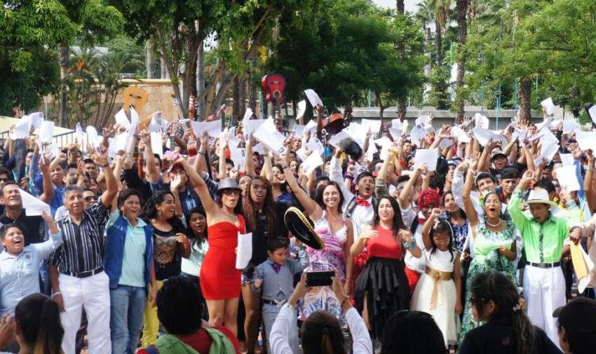 Masiva concurrencia en el casting de Ecuador Tiene Talento temporada cuatro. Foto: Ecuavisa