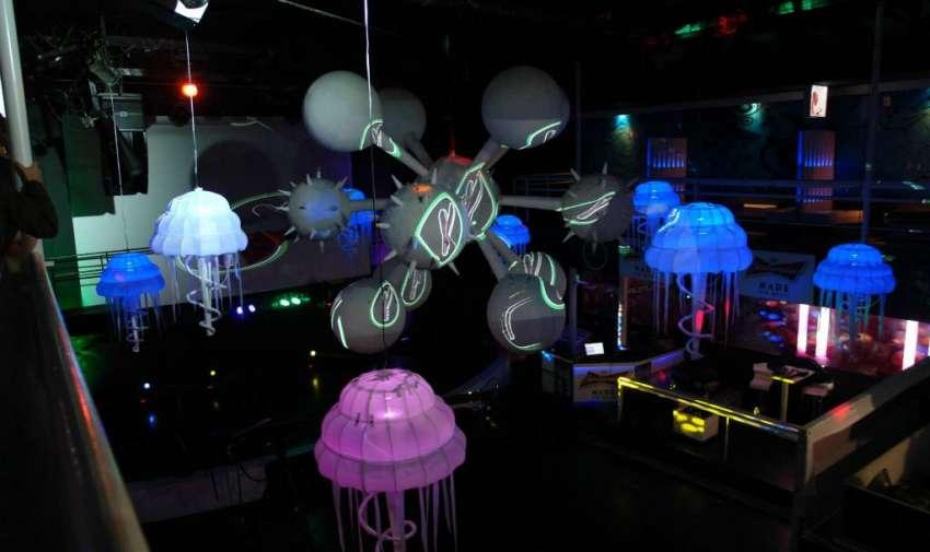 La fabulosa decoración fue el ambiente perfecto para promocionar la fiesta.