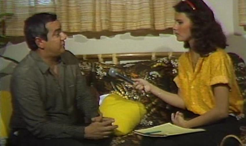 En 1987 logró la exclusiva del secuestro del expresidente del Ecuador León Febres Cordero en Taura, por su trayectoria, es uno de los mayores referentes de la televisión nacional. Foto: Archivo