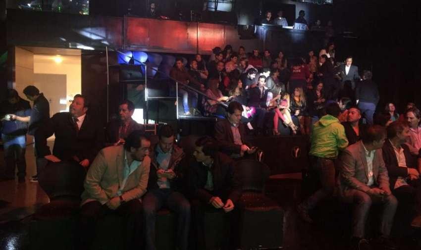 Invitados y medios de comunicación asistieron a la rueda de prensa de Yingo. Foto: Ecuavisa