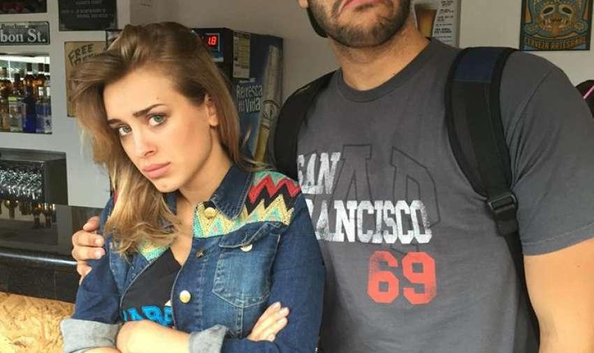 Vicky y Cesé no estuvieron felices con el desafio.