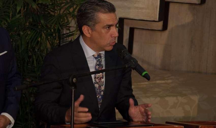 Ricardo Vásquez, gerente general de Ecuavisa. Foto: Mauricio Torres
