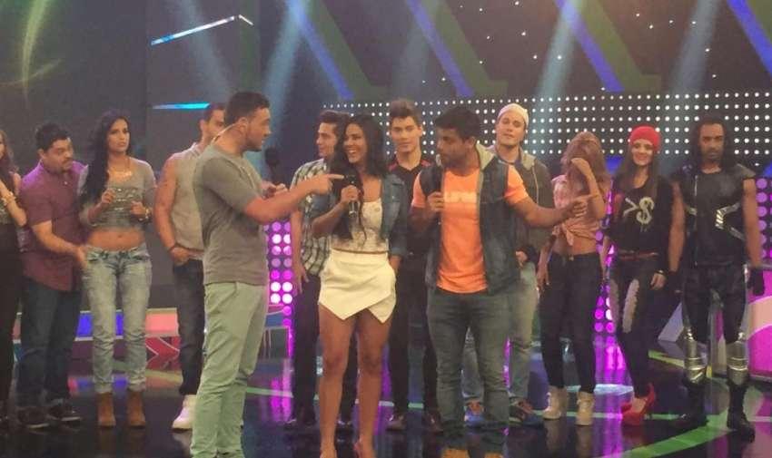 Los concursantes de Yingo, cantantes y bailarines durante el programa especial de En Contacto. Foto: Ecuavisa
