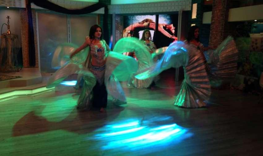 Bailarinas de belly dance del cuerpo de baile de Neme Quintero. Foto: Ecuavisa