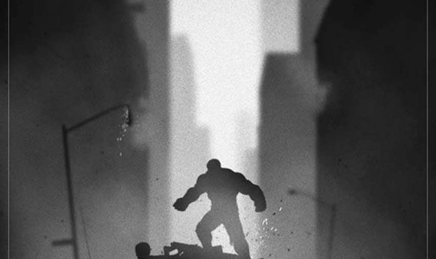 Ilustraciones del lado oscuro de las películas Foto:Marko Manev
