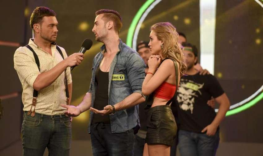 Sebas confiesa estar enamorado de Vicky.