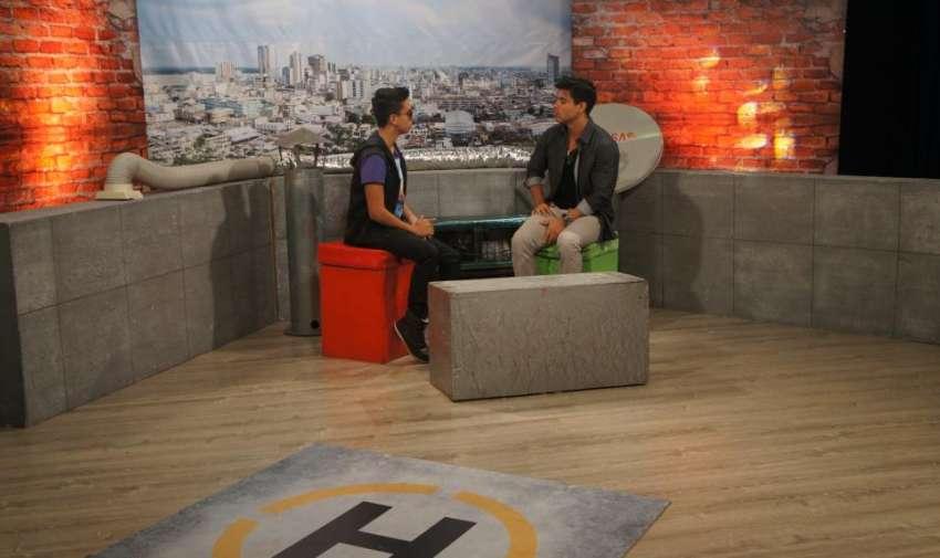 El cantante ecuatoriano Maykel Cedeño, visitó el set de En Contacto y nos contó sobre su nuevo tema musical 'Violeta'. Foto: Ecuavisa
