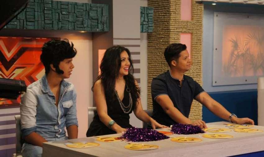 Renzito buscó el Factor X Kids entre sus amigos de En Contacto. Foto: Ecuavisa