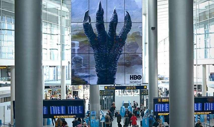 Campaña de expectativa por la agencia danesa SELIGEMIG. Foto: HBO