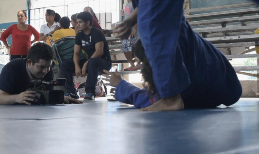 Ring de boxeo de la FEDE Guayas. Foto: Visión 360