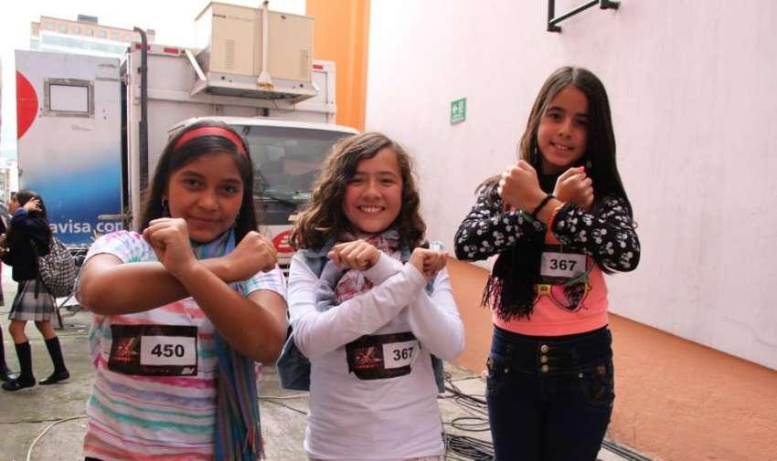 Hermosas niñas con mucho talento.