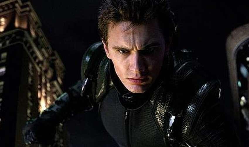 El traje que eligió para vengar a su padre en Spiderman 3 no fue mejor que el de las primeras películas.