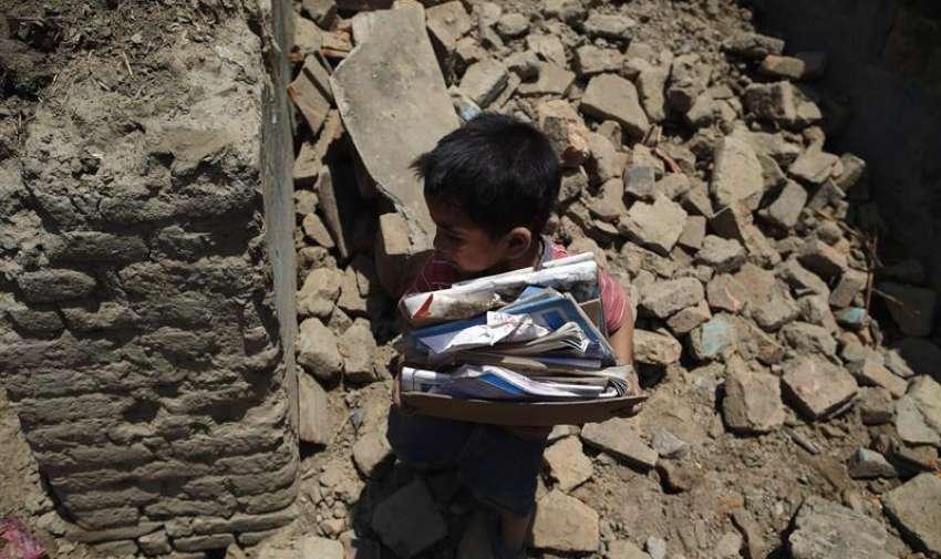 Los nepalíes volvieron hoy, martes 12 de mayo de 2015, a revivir la pesadilla de un nuevo terremoto que añade más muertos y heridos al luctuoso recuento de víctimas que comenzó a registrarse con el seísmo del pasado 25 de abril. EFE