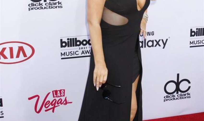 Mariah Carey llega para los Premios Billboard de la Música 2015 en el MGM Grand Hotel and Casino en Las Vegas , Nevada, EE.UU. , 17 de Mayo de 2015. EFE