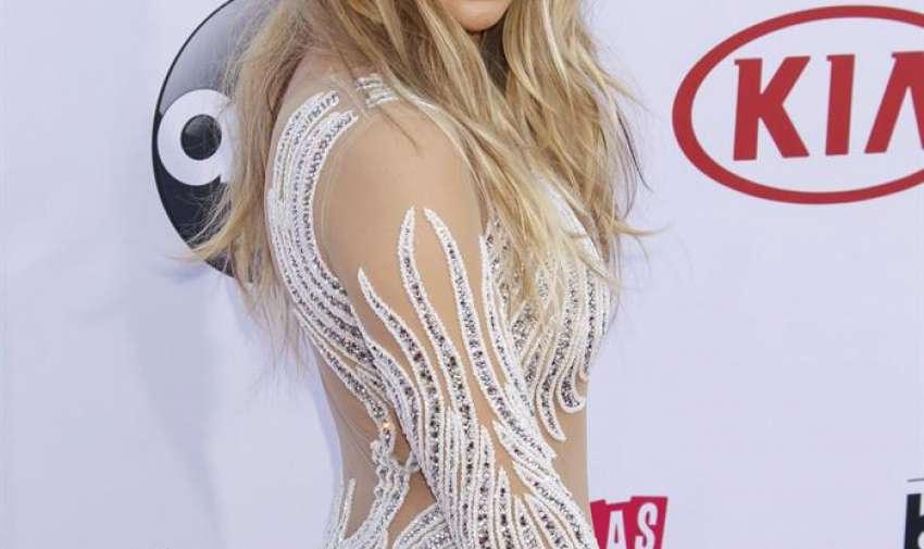 Jennifer López llega para los Premios Billboard de la Música 2015 en el MGM Grand Hotel and Casino en Las Vegas , Nevada, EE.UU.