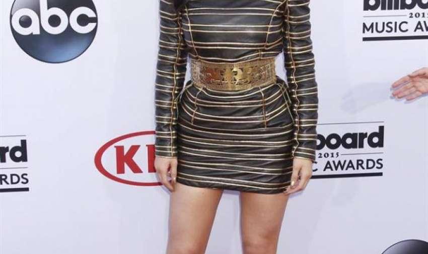 Celebridad  de la televisión Kylie Jenner llega para los Premios Billboard de la Música 2015 en el MGM Grand Hotel and Casino en Las Vegas , Nevada, EE.UU. , 17 de Mayo de 2015.