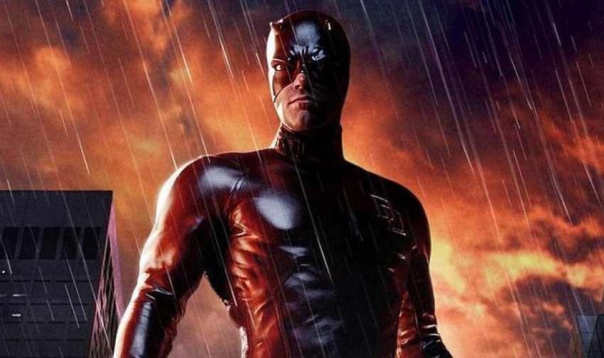 Matt Murdock puede ser el 'hombre sin miedo', pero el traje que lució Ben Affleck en la muy mejorable versión de 2003 no intimida a nadie.