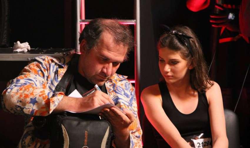 Ana y su papá son un dúo inseparable.