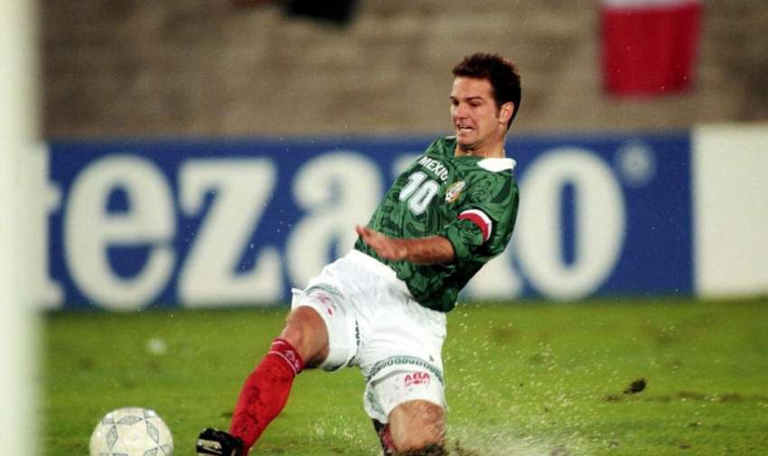 Luis García Postigo goleador de la Copa América 1995 con 4 goles.