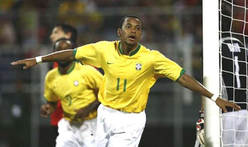 Robinho goleador en el 2007.