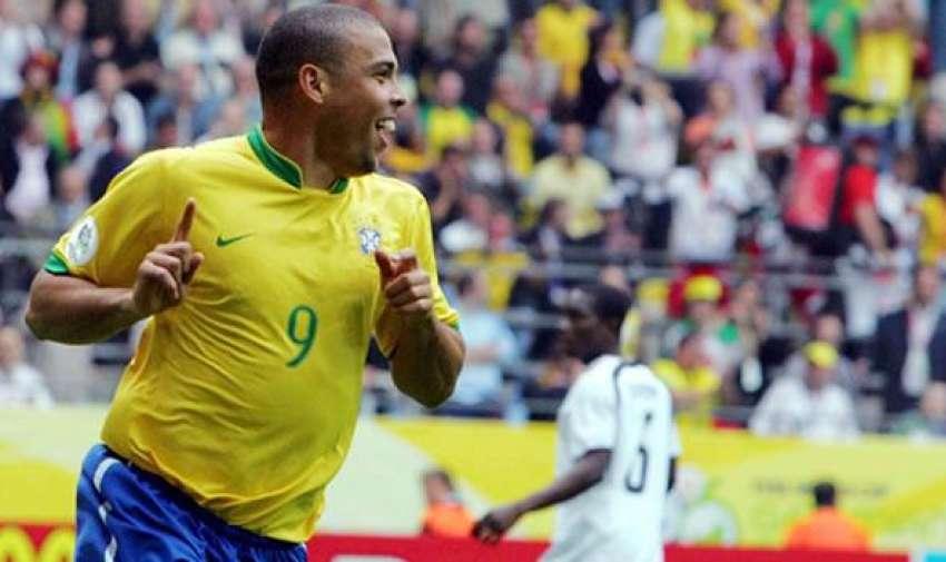 Ronaldo goleador en 1999 con 5 goles.