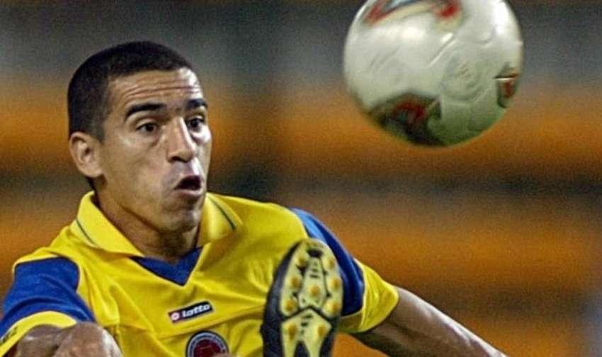 Víctor Hugo Aristizábal de Colombia goleador de la Copa América 2011.