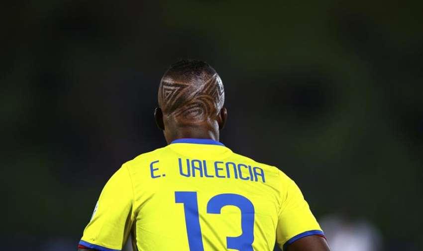 Enner Valencia durante el partido Ecuador-Bolivia, del Grupo A de la Copa América de Chile 2015. EFE