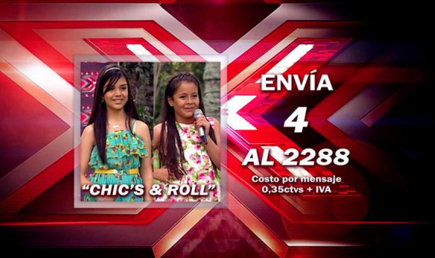 Envía 4 al 2288 para votar por Daniela y Elizabeth.