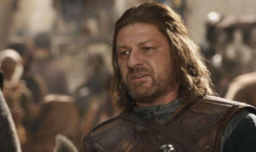 Ned Stark, muerto en la temporada uno.