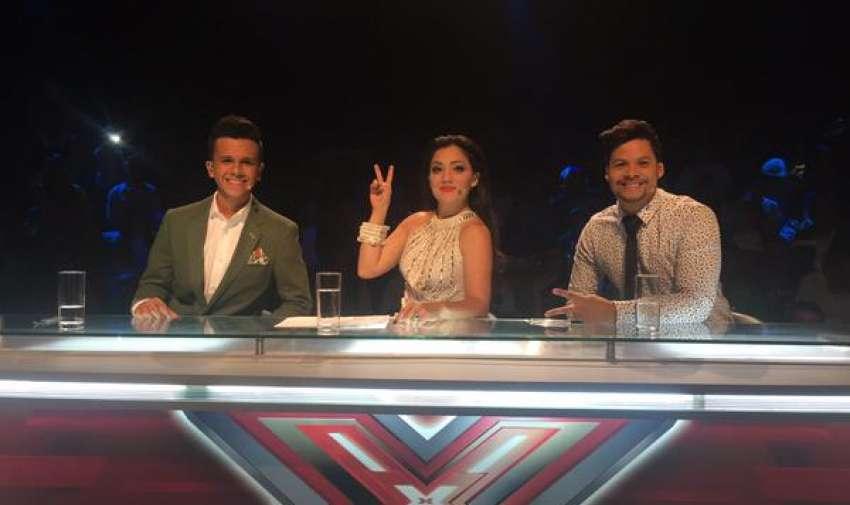 Maykel, Pamela y Jorge Luis: el gran jurado de Factor X Kids.