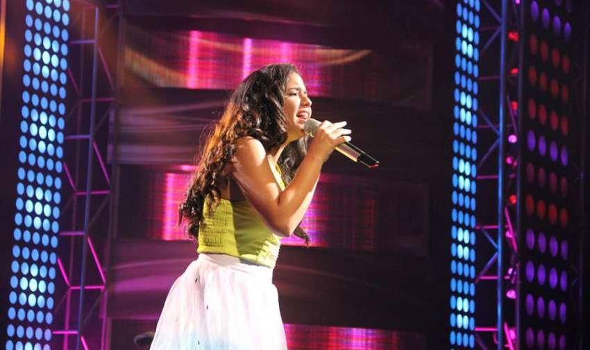 ¡Una voz explosiva! Nicole dejó todo su corazón en el escenario