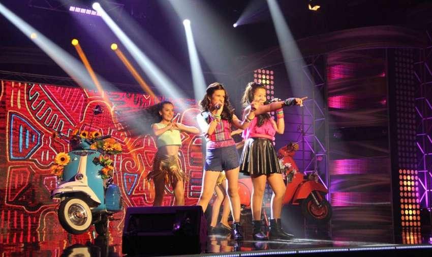 Chics' N Roll cierran la segunda gala de Factor X Kids.