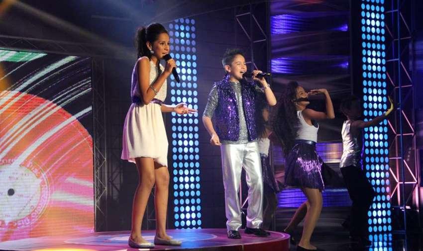 Jean Pierre, el príncipe, y Solange, la reina, abrieron la tercera gala de Factor X Kids.