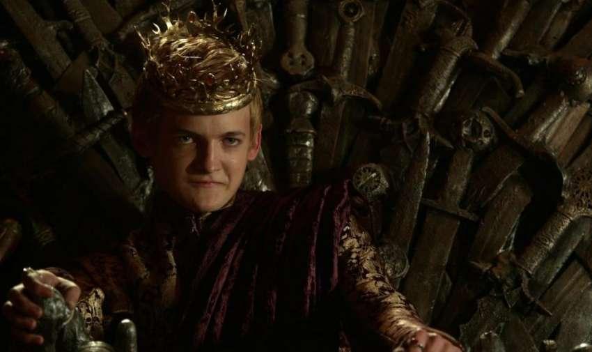 Joffrey Baratheon muere en la cuarta temporada.