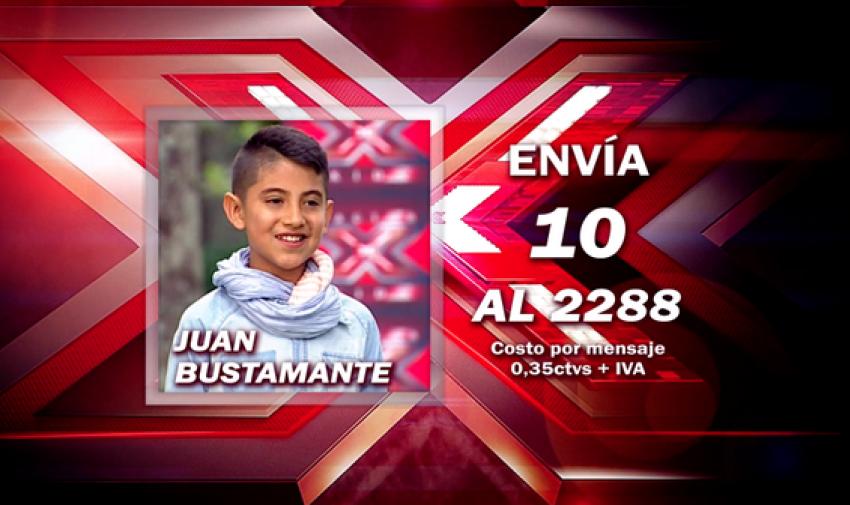 Envía 10 al 2288 para votar por Juan.