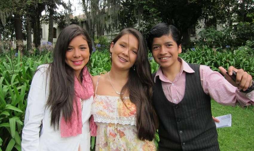 El trío de Factor X Kids
