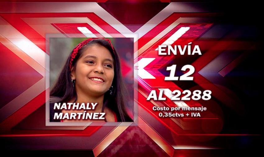 Envía 12 al 2288 para votar por Nathaly.