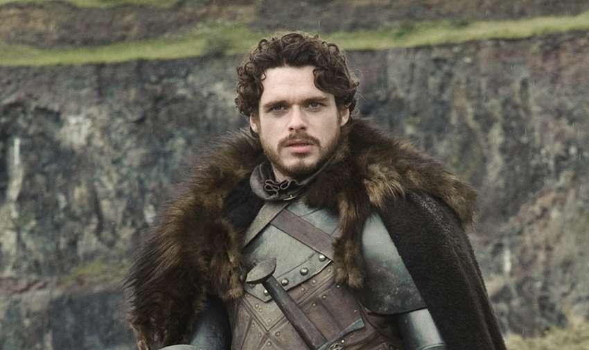 Robb Stark, muere en la temporada tres.