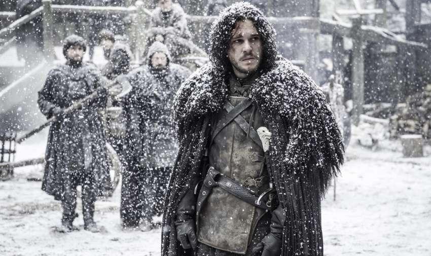 Jon Snow, muerto en la temporada cinco.