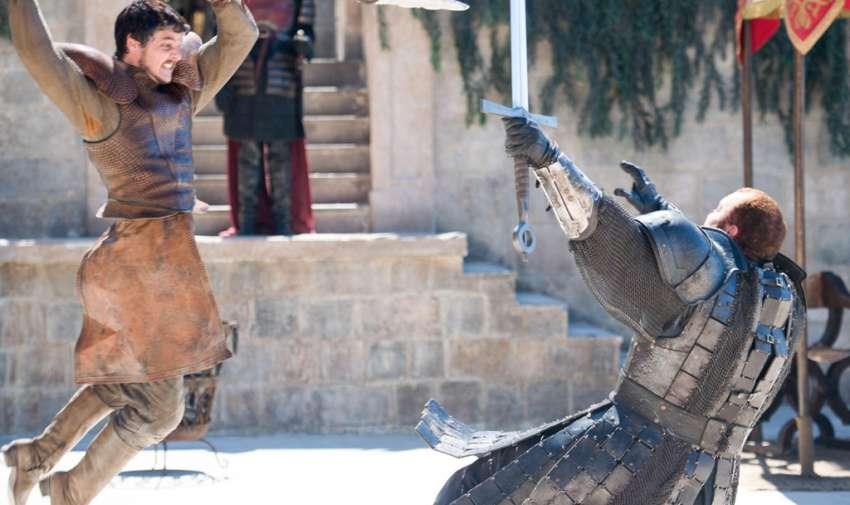 Oberyn Martell, muere en la temporada cuarta.