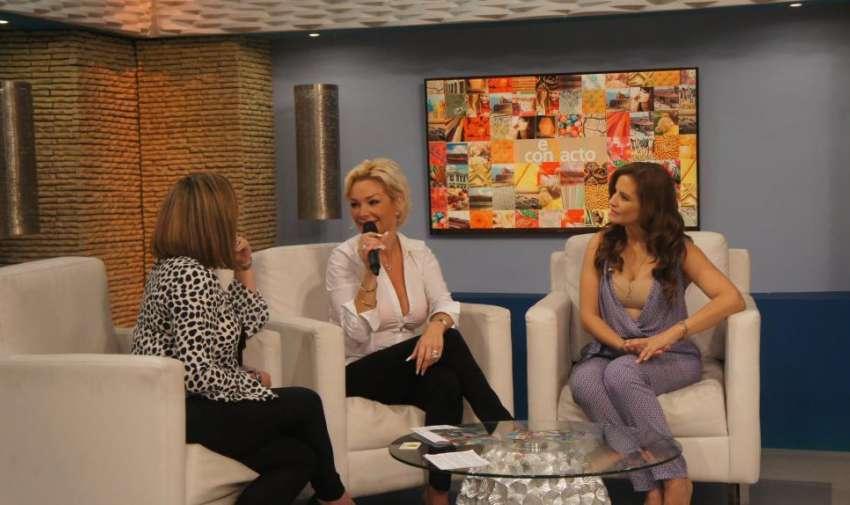 La cantante Marisela visitó En Contacto y compartió con sus fans sus grandes éxitos. Foto: Ecuavisa