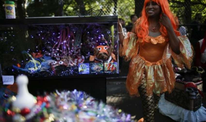 27mo desfile anual de perros de Tompkins Square Halloween en Nueva York