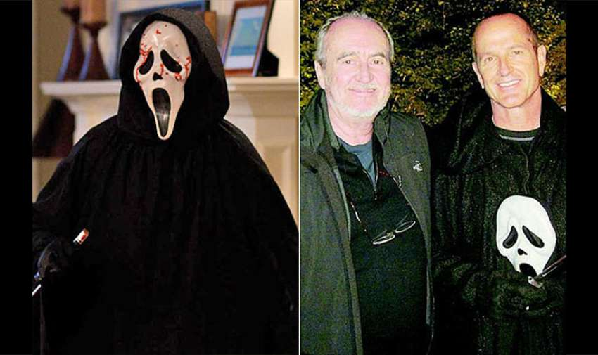 "Ghostface de la seria de películas ""Scream"" fue interpretado por el doble de acción Dane Farwell. Referencia: Internet"