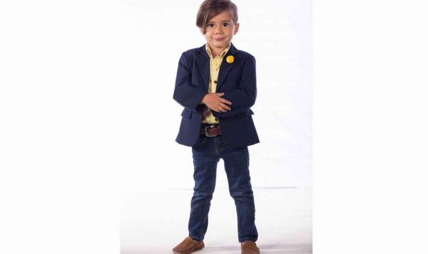 Baby Jr. es el hijo fashion de la familia, el que pondrá en alto el apellido Plaza Lagos.